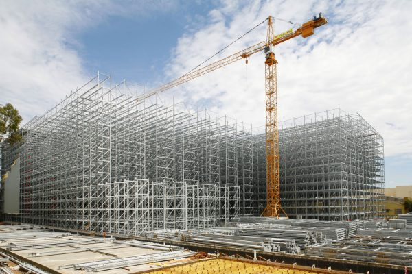 CocaCola Warehouse Construction – Stock Shoot