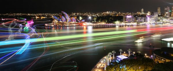 Time Lapse Vivid – Destination NSW