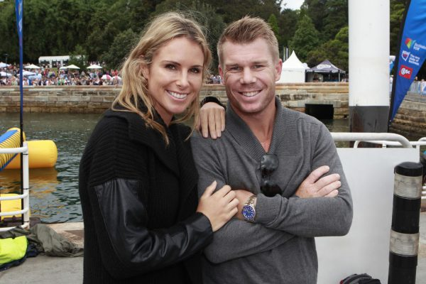 Candice and David Warner – Australia Day Council