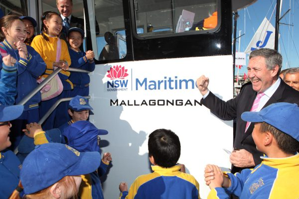 Ferry Launch – NSW Maritime
