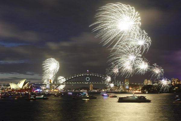 9pm Fireworks NYE – City of Sydney