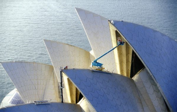 Opera House Repair – Snorkel Work Platforms
