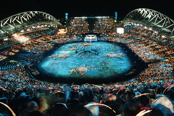 Olympic Opening Ceremony – Snorkel Work Platforms